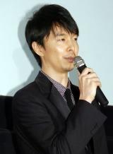 映画『二重生活』の完成披露試写会舞台あいさつに出席した長谷川博己 (C)ORICON NewS inc.