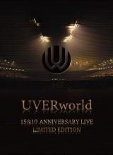 UVERworldのライブDVD『UVERworld 15&10 Anniversary Live』完全限定盤