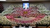 芸映代表取締役会長・青木伸樹さんの葬儀で最後のお別れ (C)ORICON NewS inc.