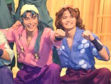 ミュージカル『忍たま乱太郎』公開ゲネプロに出席した(左から)杉江優篤、薫太 (C)ORICON NewS inc.