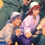 ミュージカル『忍たま乱太郎』公開ゲネプロに出席した(左から)倉本発、橘龍丸 (C)ORICON NewS inc.