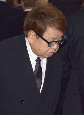 芸映代表取締役会長・青木伸樹さんの通夜に参列した高木ブー (C)ORICON NewS inc.