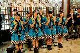 愛宕神社で「こだわりの焼きとり」ヒット祈願をした私立恵比寿中学