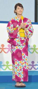 『お台場みんなの夢大陸2016』の制作発表に登壇した永島優美アナ (C)ORICON NewS inc.