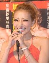 今後の目標は「NHKの朝ドラ!」と語った加藤紗里 (C)ORICON NewS inc.