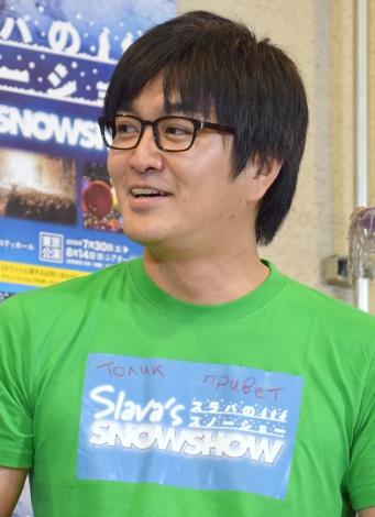 『SLAVA'S SNOWSHOW スラバのスノーショー』開催イベントに出席した平成ノブシコブシ・徳井健太 (C)ORICON NewS inc.