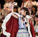 AKB総選挙では二連覇を果たしたHKT48・指原莉乃(C)AKS