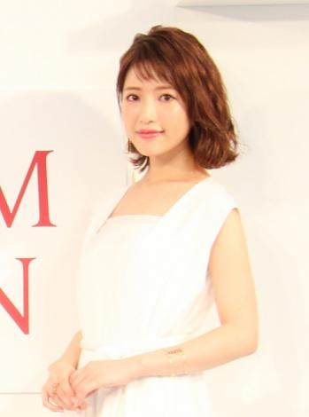 SK-IIのスペシャルイベントに登場した舟山久美子(C)oricon ME inc.