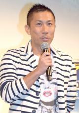 映画『X-ミッション』のブルーレイ&DVDリリースイベントに出席した前園真聖 (C)ORICON NewS inc.