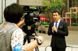 中井貴一がキャスターを演じる『グッドモーニングショー』(10月8日公開)(C)2016 フジテレビジョン 東宝