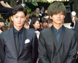 (左から)岡田将生、松坂桃李 (C)ORICON NewS inc.