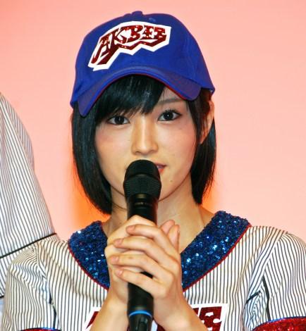 AKB48高校野球選抜のWセンターを務める山本彩 (C)ORICON NewS inc.