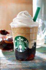 7月2日発売の『コーヒー ジェリー & クリーミー バニラ フラペチーノ』