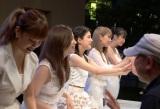 9nine初のベストアルバム『BEST9』発売記念イベントのハイタッチ会