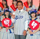 高校野球選抜のWセンターと『熱闘甲子園』キャスター古田敦也氏 (C)ORICON NewS inc.