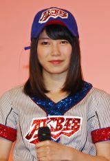 AKB48高校野球選抜のWセンターを務める横山由依(C)ORICON NewS inc.
