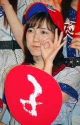 AKB48高校野球選抜の渡辺麻友 (C)ORICON NewS inc.