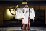 連続ドラマ『石川五右衛門』クランクアップ撮影時の市川海老蔵(C)テレビ東京