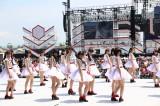 『第8回AKB48選抜総選挙』開票イベント前の昼公演の模様 (C)AKS
