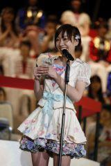 『第8回AKB48選抜総選挙』第7位で選抜入りしたSKE48・須田亜香里 (C)AKS