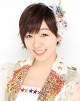 『第8回AKB48選抜総選挙』第7位で選抜入りしたSKE48・須田亜香里(C)AKS