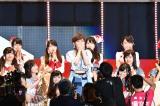 選抜入りを果たし喜ぶAKB48・岡田奈々 (C)AKS