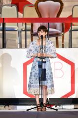 『第8回AKB48選抜総選挙』14位で選抜入りしたAKB48・岡田奈々 (C)AKS