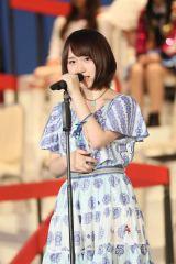 『第8回AKB48選抜総選挙』第15位で選抜入りしたAKB48・高橋朱里(C)AKS