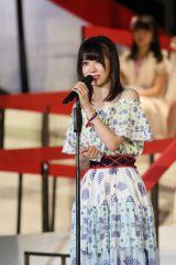 悔し涙を流していたHKT48&AKB48の宮脇咲良 (C)AKS