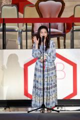 『第8回AKB48選抜総選挙』第8位で選抜入りしたAKB48・島崎遥香(C)AKS