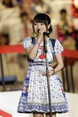 『第8回AKB48選抜総選挙』13位で選抜入りしたAKB48・向井地美音 (C)AKS