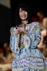 『第8回AKB48選抜総選挙』で11位となり選抜メンバー入りしたAKB48・横山由依(C)AKS