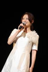 イベントでMCを務めた馬場典子アナ