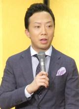 『平成28年度 松竹大歌舞伎』製作発表記者会見に出席した市川猿之助 (C)ORICON NewS inc.