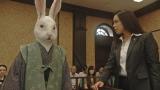 昨年、NHK・Eテレで放送され話題を呼んだ『昔話法廷』の新シリーズが決定。写真は昨年の「カチカチ山」裁判。敵討ちでタヌキを殺そうとしたウサギが被告人に(C)NHK