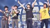全国ツアー『flumpool 7th tour 2016「WHAT ABOUT EGGS?」』最終公演を行ったflumpool(左から)尼川元気、小倉誠司、山村隆太、阪井一生