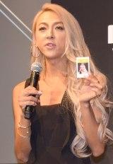 『富士フイルム「スマホdeチェキ」』の新製品発表会に出席したGENKING (C)ORICON NewS inc.