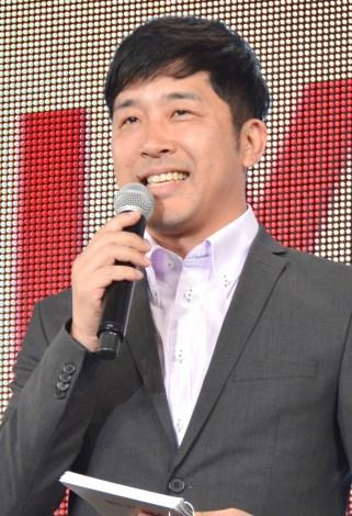 NETFLI×特別プレゼンテーション&イベントの司会を務めたあべこうじ (C)ORICON NewS inc.
