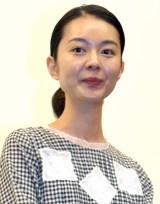 オムニバス映画『スリリングな日常』の舞台あいさつに出席した中村映里子 (C)ORICON NewS inc.