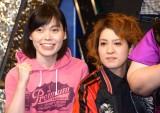お笑いの祭典『M-1グランプリ2016』開催会見に出席した尼神インター (C)ORICON NewS inc.
