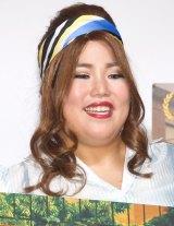 ハリウッド女優風メイクで変身したゆりやんレトリィバァ=映画『ブルックリン』公開直前トークイベント (C)ORICON NewS inc.