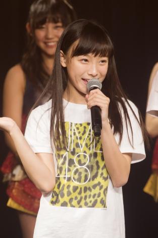 梅山恋和(うめやま・ここな)2003年8月7日生/大阪/中1・12歳/ここな(C)NMB48