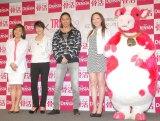 (左から)おおたわ史絵、ETSU、SAM、CHIHARU、デンタロウ (C)ORICON NewS inc.