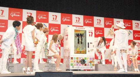 ダンスを踊るDa-iCE工藤大輝=江崎グリコ『seventeen ice「PLAY!17」PRイベント』 (C)ORICON NewS inc.