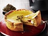 パブロから静岡2店舗限定で発売される白玉入り『ほうじ茶チーズタルト』