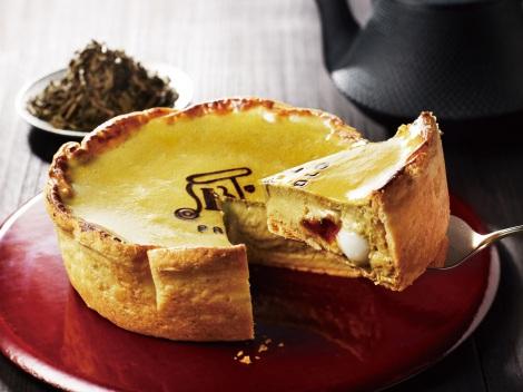 サムネイル パブロから静岡2店舗限定で発売される白玉入り『ほうじ茶チーズタルト』