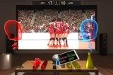 VR空間でバレーボールの試合観戦を楽しむ