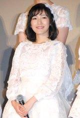 AKB48ドキュメンタリー映画第5弾『存在する理由 DOCUMENTARY of AKB48』舞台あいさつに出席した渡辺麻友 (C)ORICON NewS inc.