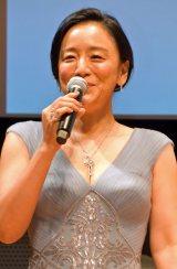 ドラマ『せいせいするほど愛してる』完成披露試写会に出席した神野三鈴 (C)ORICON NewS inc.