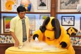 まんまコーナーでは30秒でできるアイスクリーム作りに挑戦する(C)関西テレビ